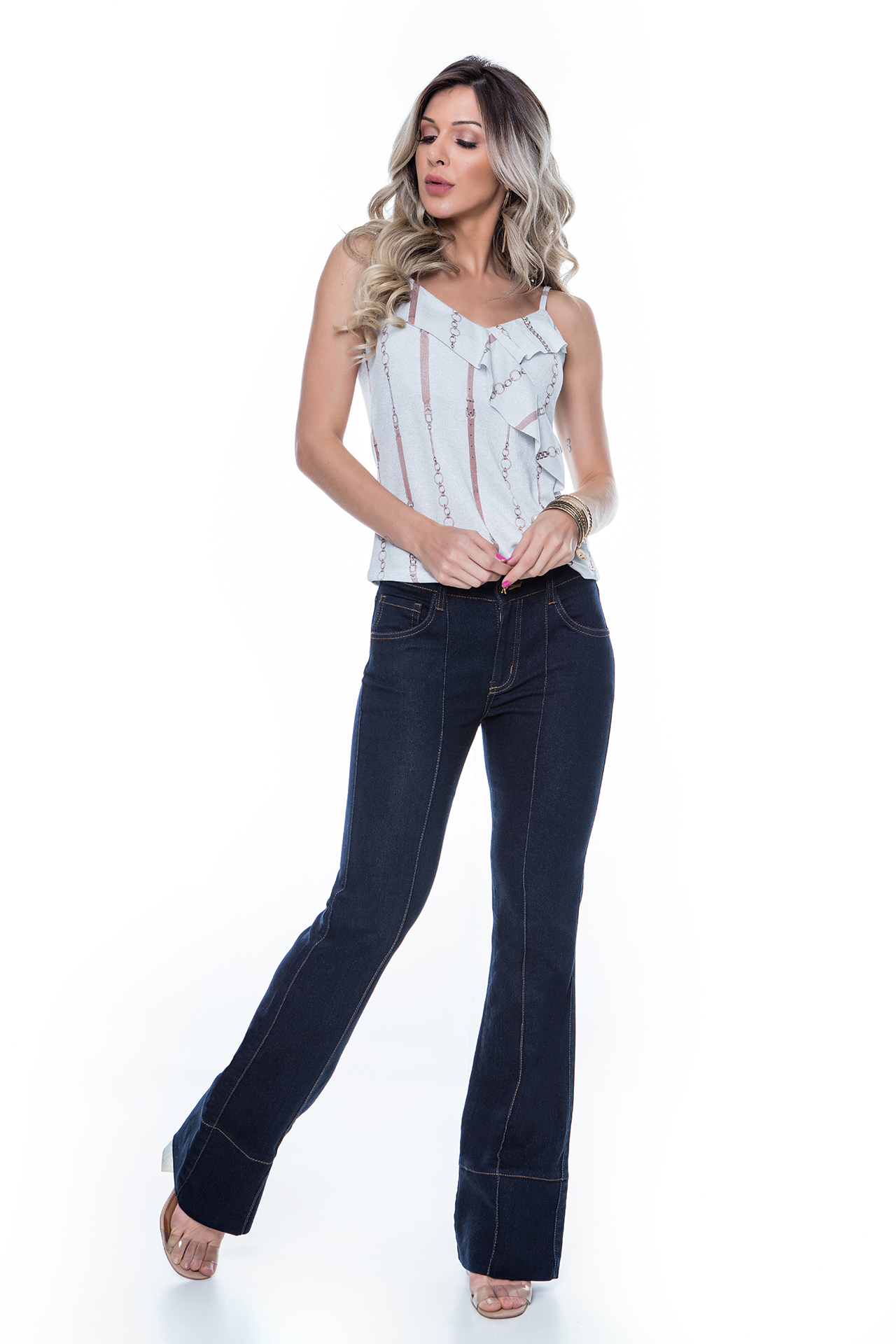 Jeans: office look perfeito!
